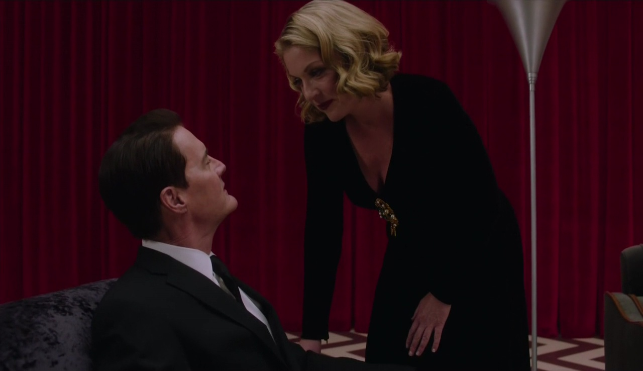 Twin Peaks 3x01 Laura Palmer Dale Cooper