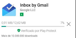 App do Inbox no iOS