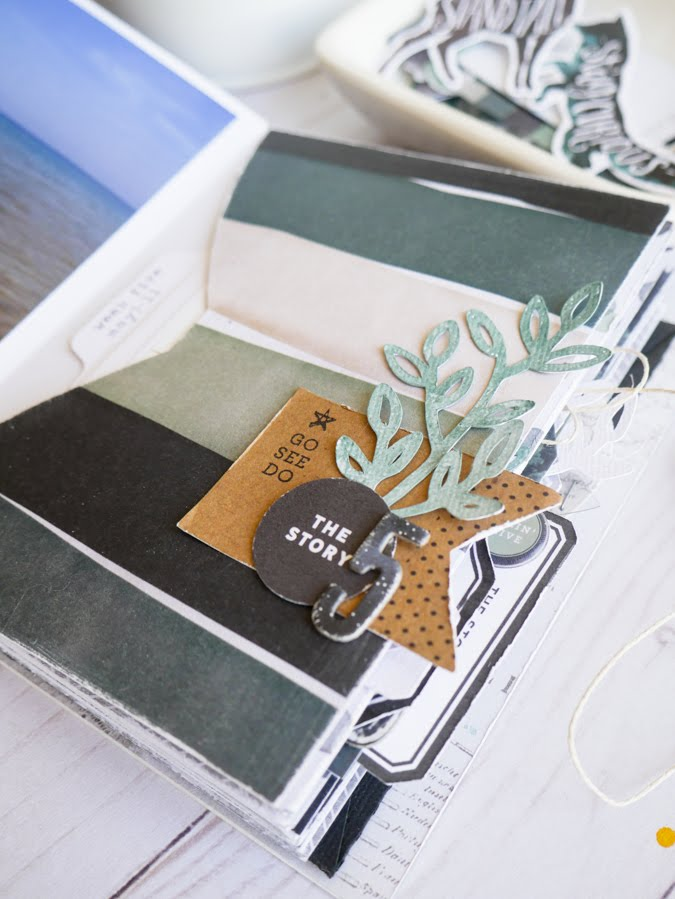 Crafting Favorite Mini Albums Stories by Jamie Pate | @jamiepate