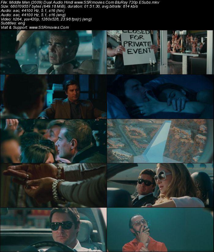 Middle Men (2009) Dual Audio Hindi 480p BluRay x264 350MB ESubs Full Movie Download