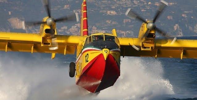 Η Ελλάδα δεν συμμετέχει στον κοινό πυροσβεστικό στόλο της ΕΕ  -VIDEO Τι βλέπει ένας πιλότος πυροσβεστικού Canadair