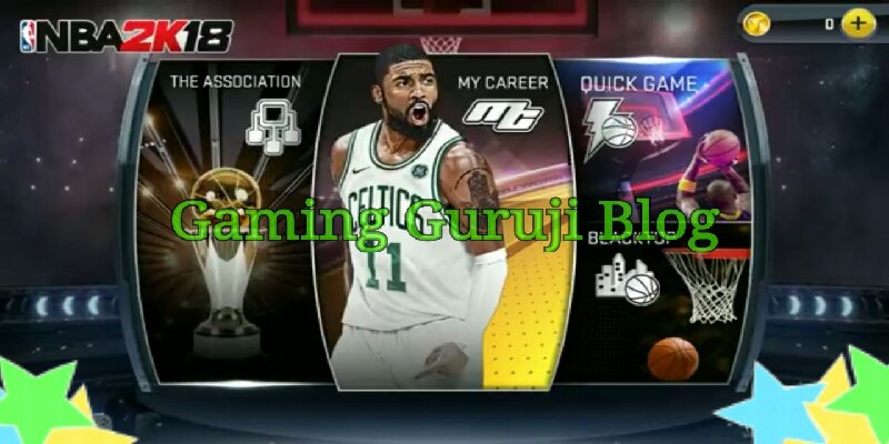 NBA 2k18 game