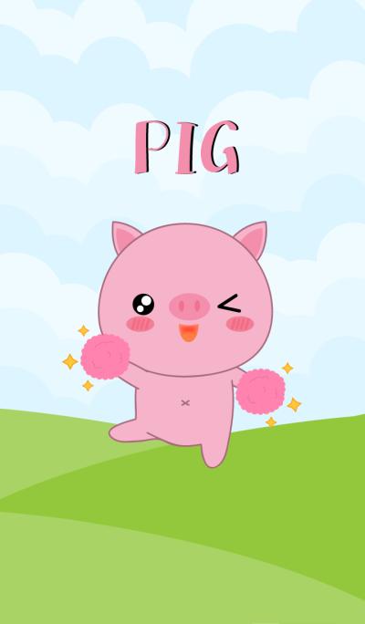 So Cute Pig Theme