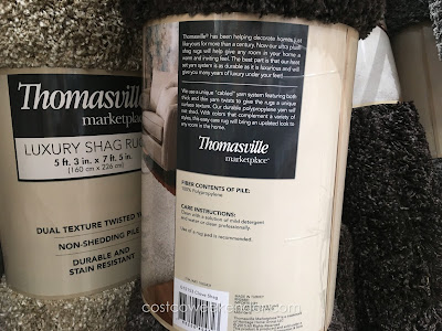 Thomasville Marketplace Luxury Shag Rug: great to protect hardwood floors or just a decorative piece