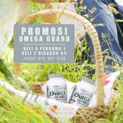 promosi, shaklee, omegaguard, produk