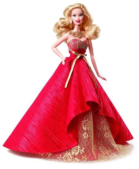 Barbie Coleção Feliz Natal 2014