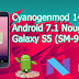 CyanogenMod 14.1 Galaxy S5 (Android 7.1 Nougat) (SM-G900M)