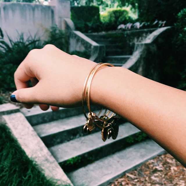 bok tower gardens, Lauren Banawa, alex and ani bangles, fashion blog