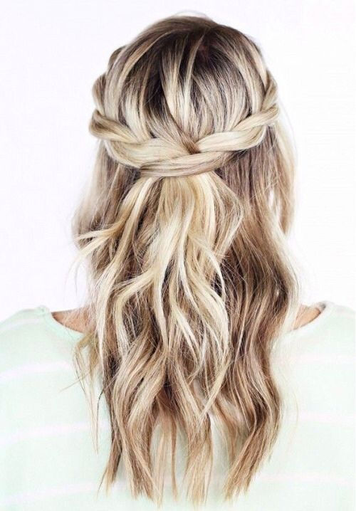 Half-Up-Braid