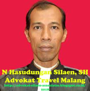 Pengacara Travel Malang Kantor Hukum N Hasudungan Silaen, SH
