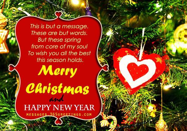 Download Romantic Christmas 2016 Card for Girlfriend