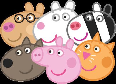 vector peppa pig
