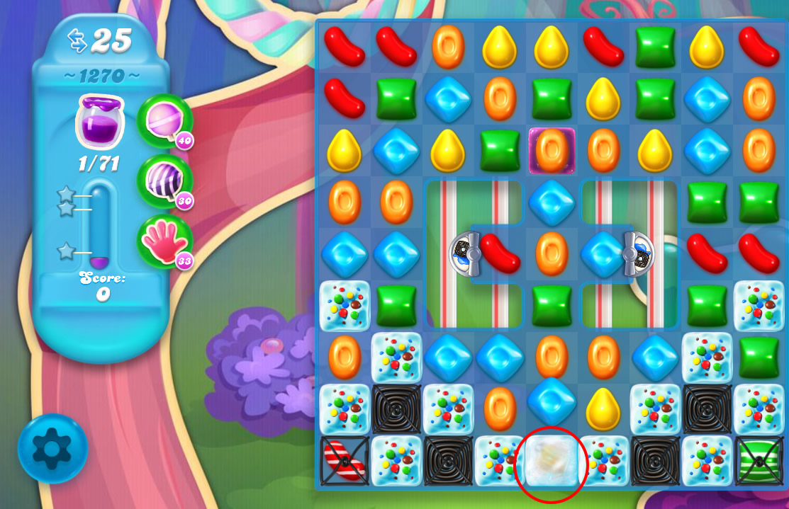 Candy Crush Soda Saga level 1270