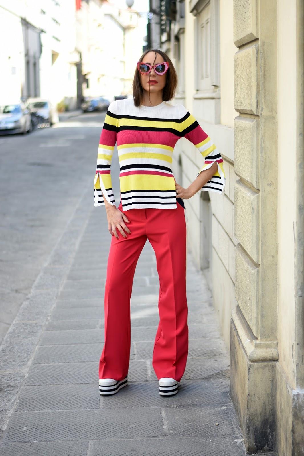 pantalone rosso