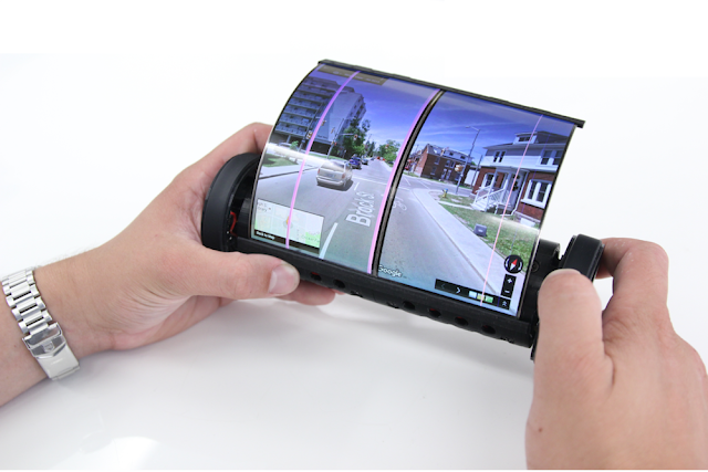 Kerennya Smartphone Berbentuk Silinder, Akhiranya Muncul Juga