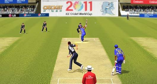 Lasith malinga with 3 boys online challenge howzat cricket game.