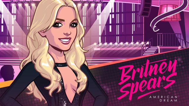 """Britney Spears lanza su nuevo videojuego """"American Dream""""."""
