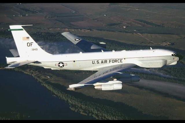 Pesawat Angkatan Udara AS melakukan pengintaian di dekat wilayah Kaliningrad