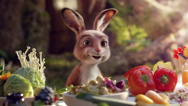 Dulce campaña publicitaria, que nos muestra el origen del conejo de pascua