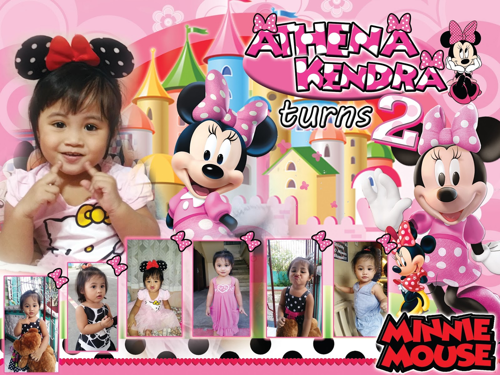 Sample Tarpaulin Design Minnie Mouse