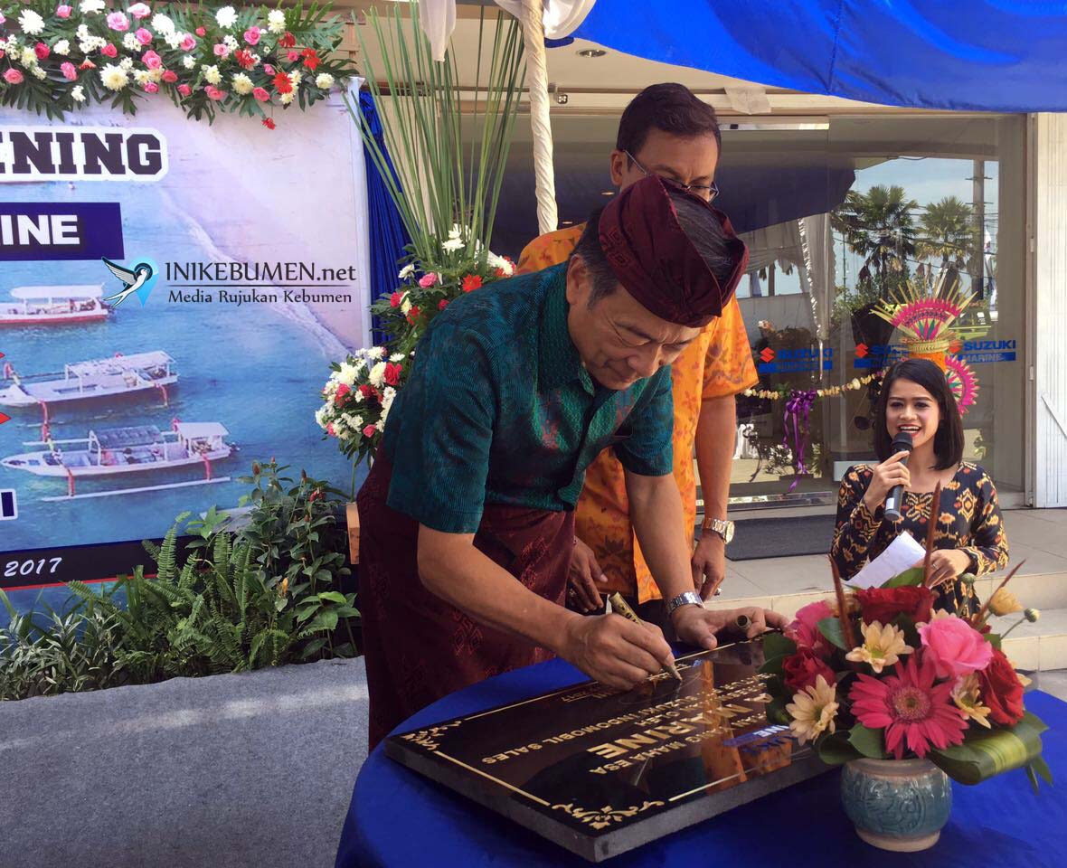 Suzuki Indonesia Resmikan Dealer Outboard Motor di Bali