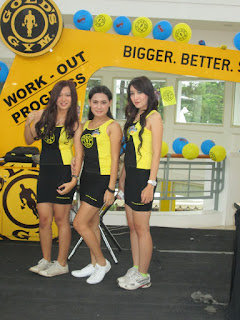 agency spg event bandung, agency model bandung, spg bandung dalam promo gold gym ciwalks bandung