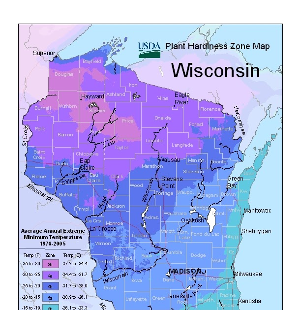 The Urbane Farmer: Update To Plant Hardiness Zones Map