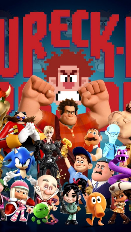 MovieWreck It Ralph 720x1280 Wallpaper ID 584163 Mobile Abyss