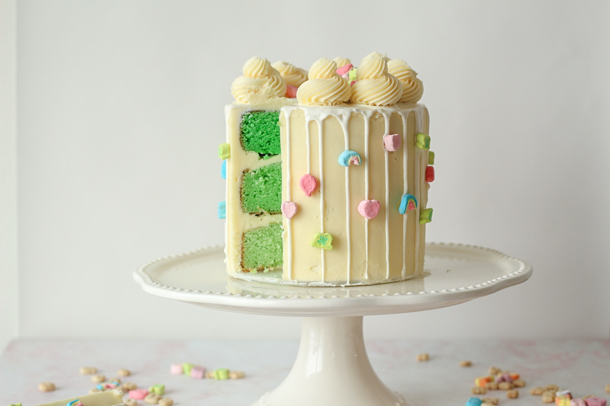 The Ultimate St. Patrick's Day Dessert: Lucky Charm Cake!