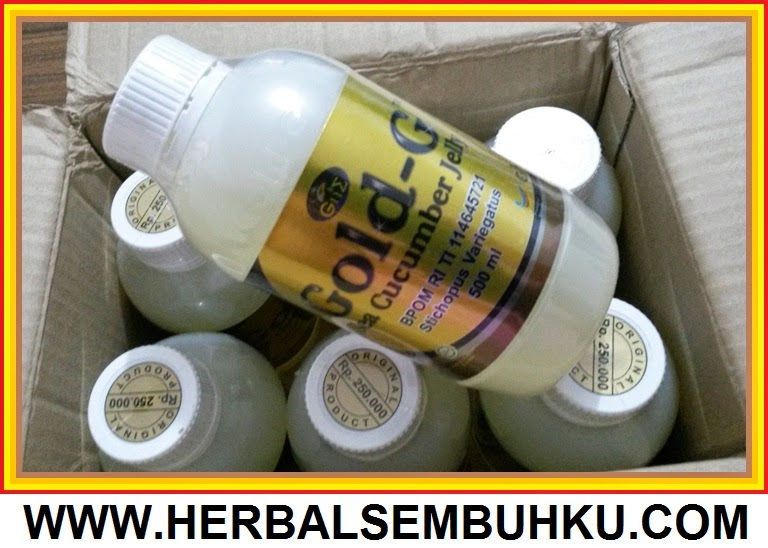 GROSIR JELLY GAMAT GOLD G 500 ml ASLI