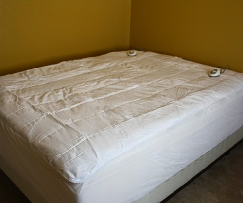 Sunbeam Therapedic Heated Quilted Mattress Pad Review