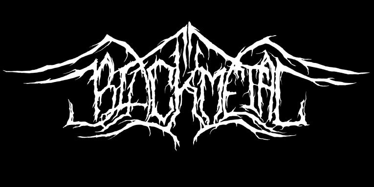 illegible black metal logo - photo #41