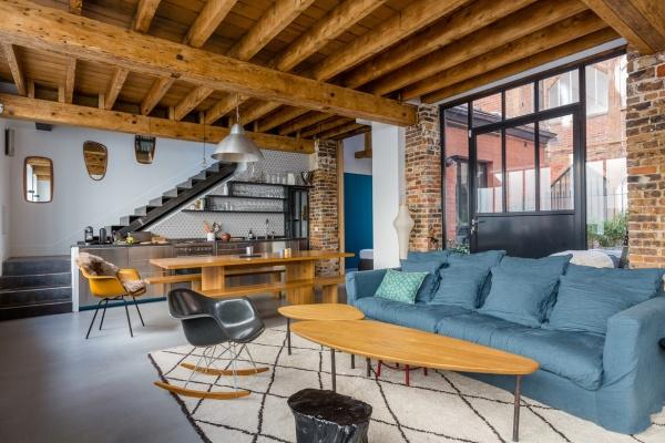 Ristrutturare un loft spunti ed idee case e interni for Piani di casa del vecchio mondo