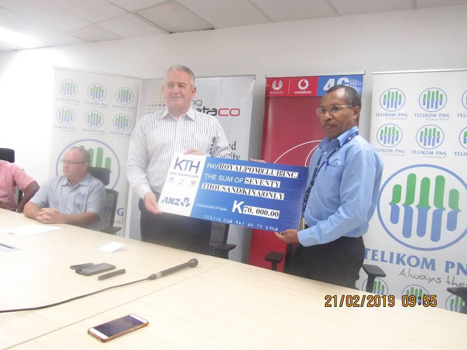 Kumul Telikom Holdings  Sponsors 2019 Gulf Pennants I