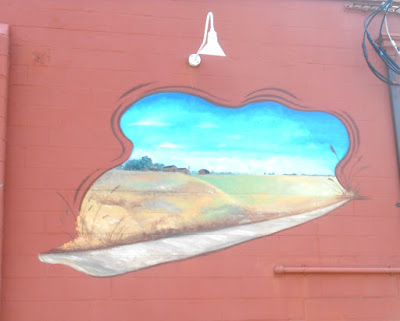 Amish Street Art Wall Mural in North Wildwood