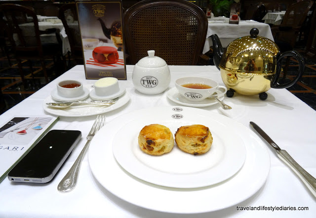 Modern Afternoon Tea Twist at TWG Tea Salon in Taipei 101 Mall