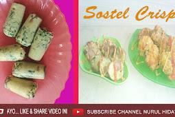 Inilah Resep Cara Membuat Sostel Crispy Tanpa Cetakan yang Lagi Viral