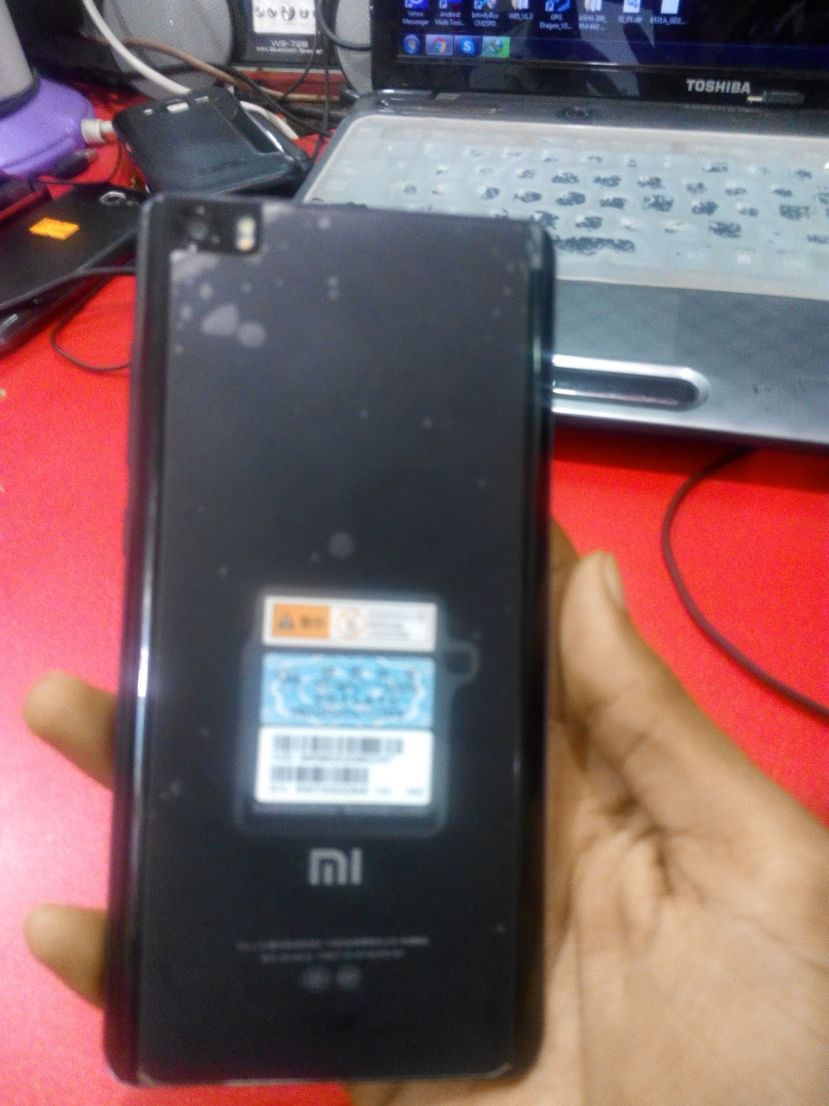 Flash All bat Xiaomi