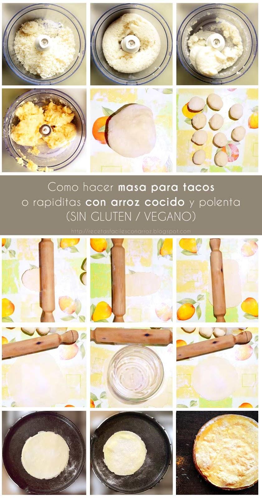 tacos sin gluten fototutorial
