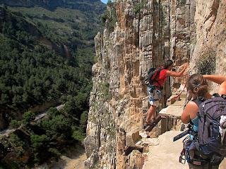 El Chorro, Wisata Ekstrim Memukau Dari Malaga Spanyol