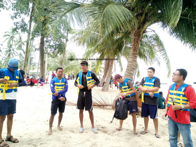 Rekreasi Wisata Seru Sea Forest Adventure Batam Berlokasi di Pantai Nuvasa Bay Batam
