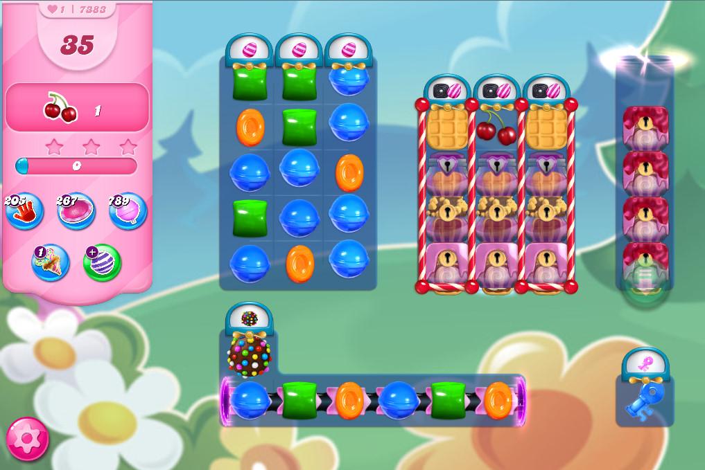 Candy Crush Saga level 7383