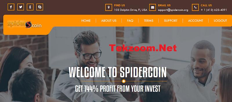 [SCAM] Review SpiderCoin - Lãi 12% hằng ngày. Liệu có phải Laser Online trường tồn thứ 2?