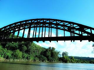 Ponte Ferroviária, Mata (RS)