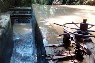 Bak Penampung air PLTMH Gonting Malaha