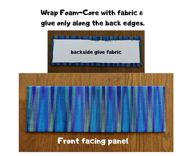 Foam-core Fabric glass panels
