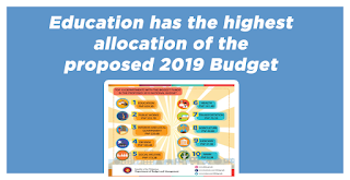 DBM: Education has the highest allocation of the proposed 2019 Budget