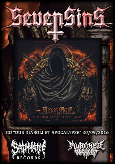 Detail from SevenSins New Album, Due Diaboli Et Apocalypse, Detail from SevenSins New Album Due Diaboli Et Apocalypse
