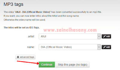 cara mendownload mp3 di youtube