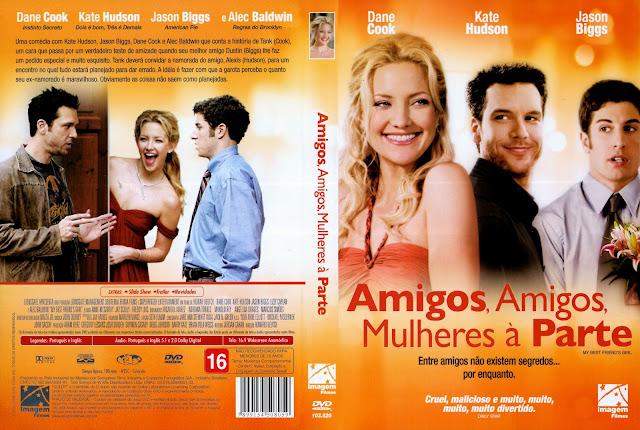 Capa DVD Amigos, Amigos, Mulheres à Parte